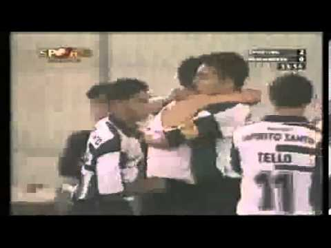 Cristiano Ronaldo's first goal of his career (17 years old)