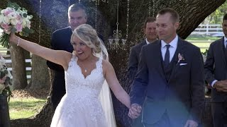 Woman Marries EMT Who Saved Her Life After Ex-Boyfriend Stabbed Her 32 Times