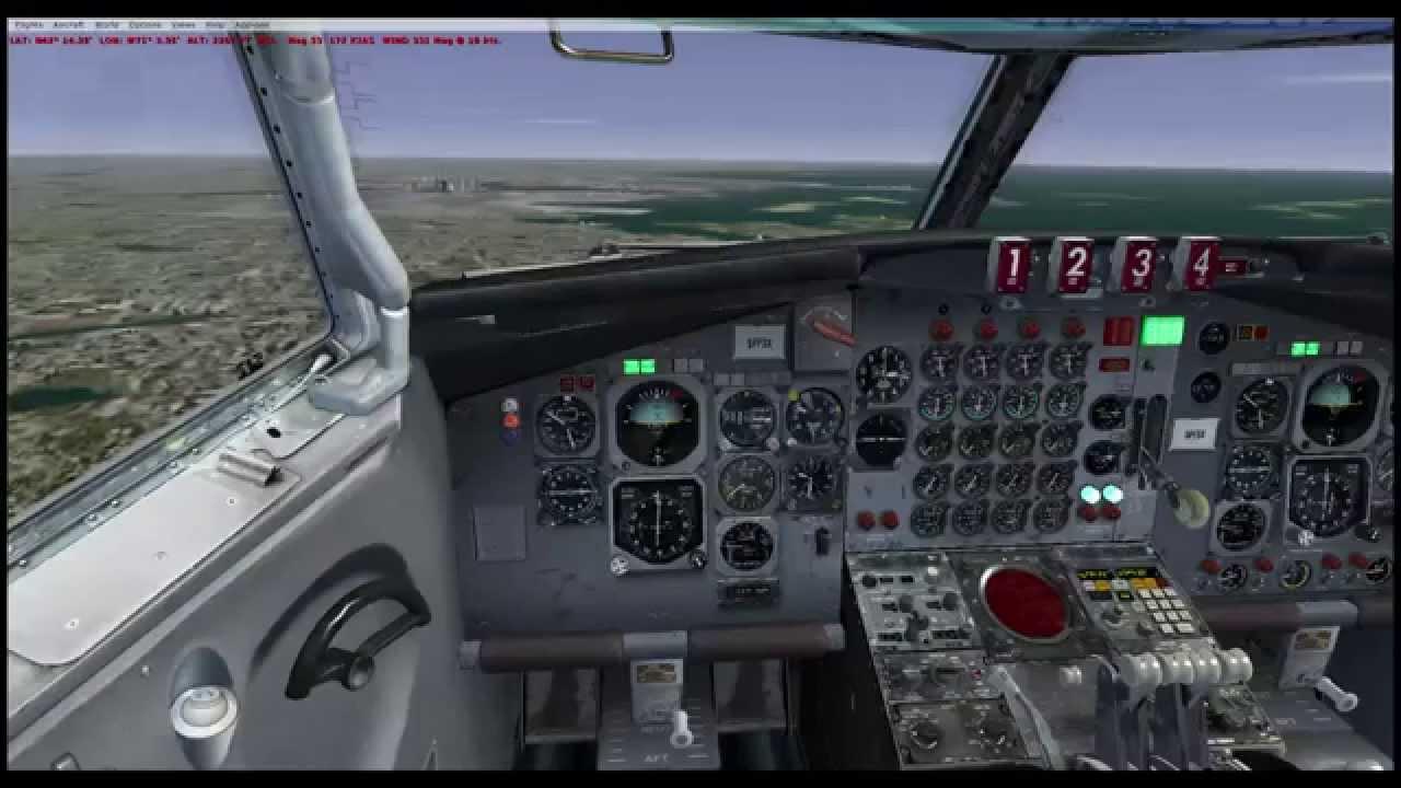 Captain Sim 707 Civa Ins Tutorial Kphl Kbos Youtube
