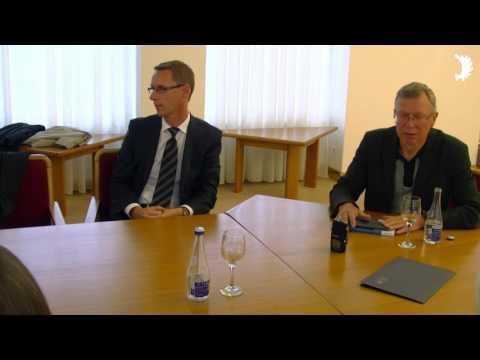 Empfang von IGFM und BdV NRW im litauischen Parlament (Seimas)