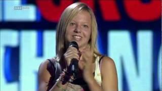 "Waka Waka - Shakira covered by Chiara Kerper ""Die große Chance"""