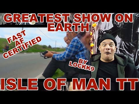 My ReView/ReAction to ISLE of MAN TT - 200mph Street Race