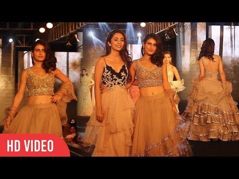 Fatima Sana Shaikh (Zafira) Walks The Ramp At The Wedding Juction Show 2018