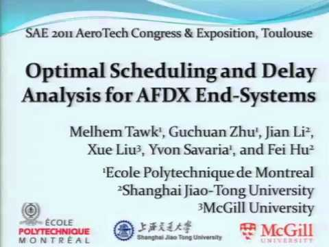 Optimal Scheduling and Delay Analysis for AFDX End-Systems