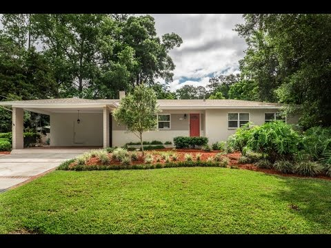 Mid-Century Design Centrally Located in NW Gainesville - $209,000