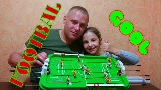 ИГРАЕМ В ФУТБОЛ ВМЕСТЕ С ПАПОЙ / FOOTBALL GAME