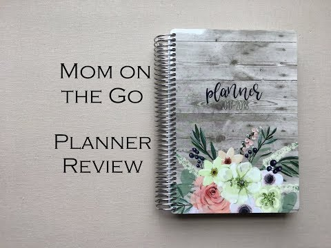 Mom on the Go Planner {2017-2018} Detailed Review!