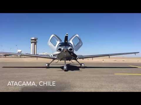 Cirrus to Santiago, Chile
