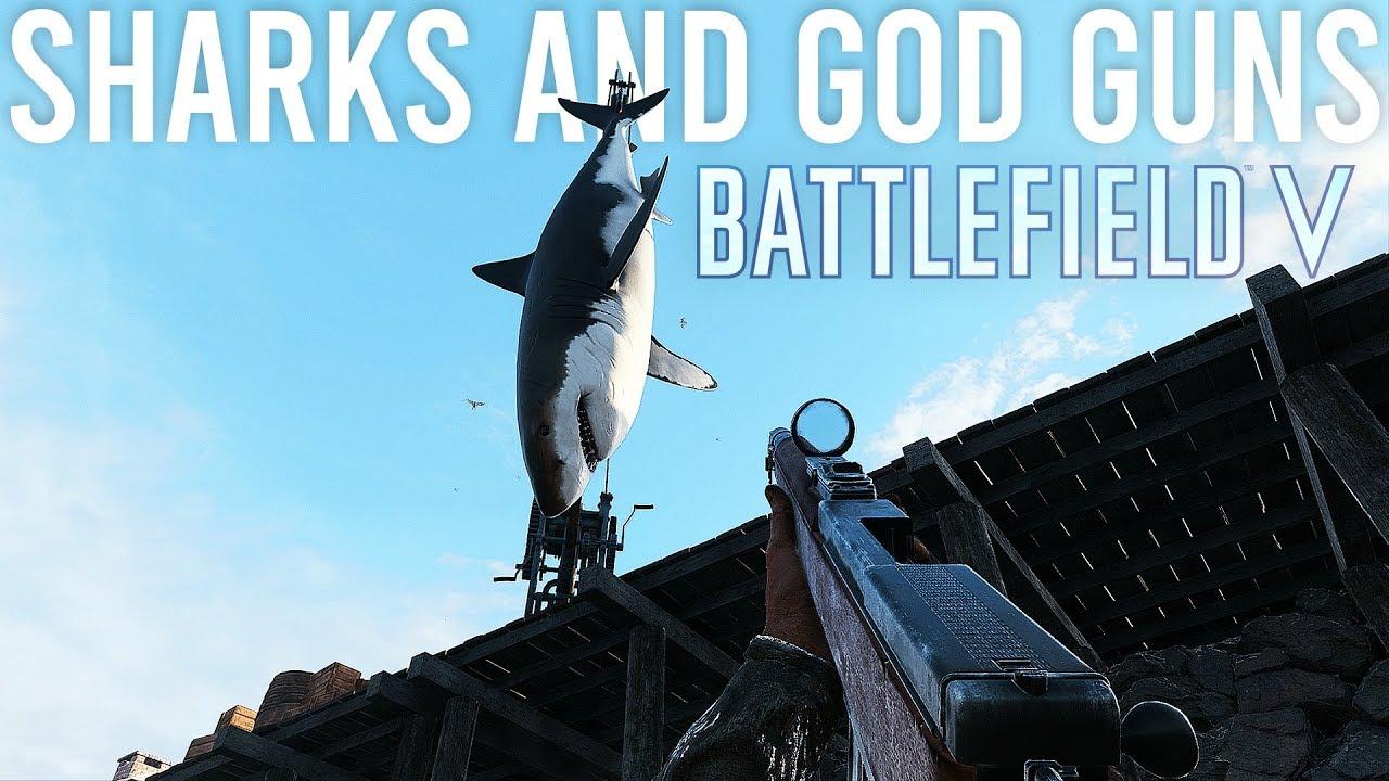 Tubarões e God Guns - Campo de Batalha 5 + vídeo