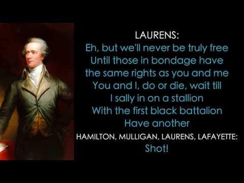 3. Hamilton Lyrics - My Shot
