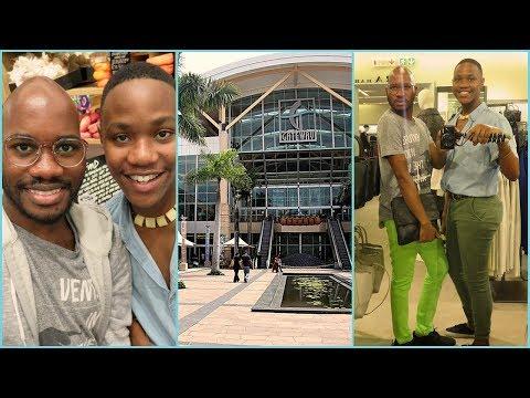Window Shopping With My Friend Mcwayi @ Gateway Mall   Mo Life😊