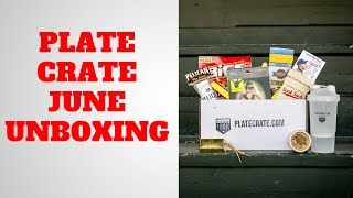 Plate Crate June Unboxing