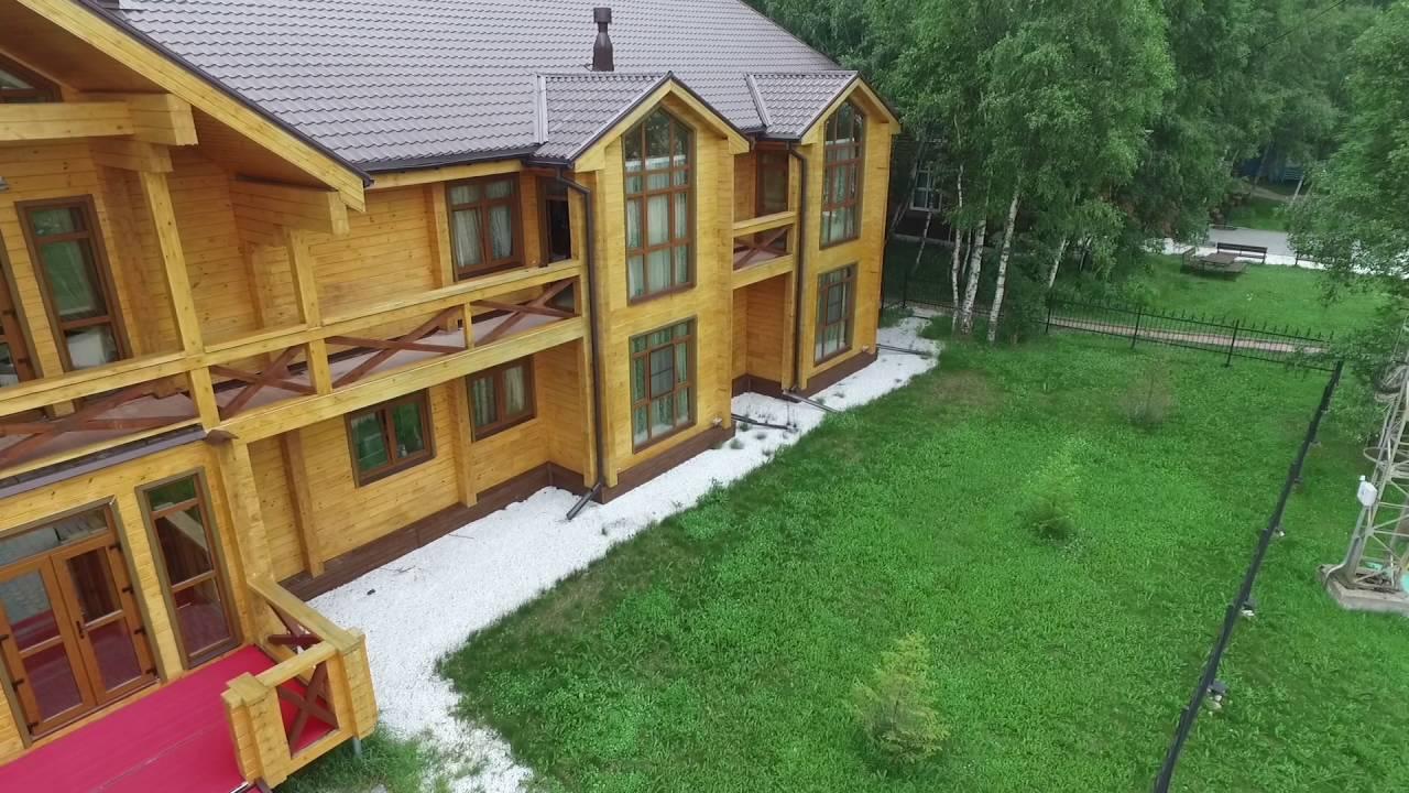 Уютная турбаза на берегу Байкала.
