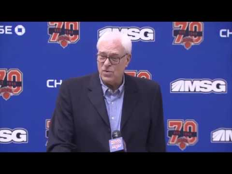 Phil Jackson says Carmelo Anthony should take trade to contender