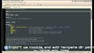Full Web Framework Python Django Tutorial VI Blog - Create First Template - Linux/Ubuntu/Windows