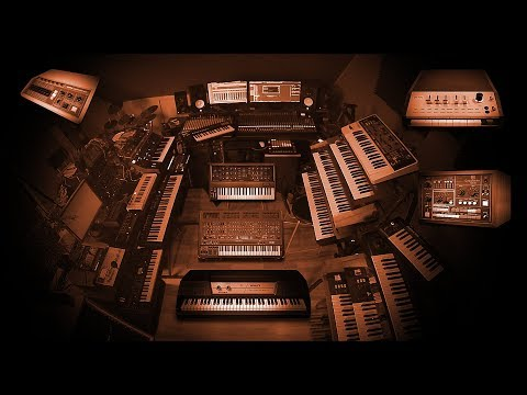 Voici mon studio - Moog, Roland, Doepfer, Korg