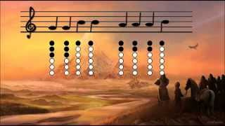 Tin whistle - I see fire