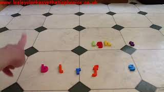 Letters and Sounds Phase 4: Kitchen Floor Phoneme Frame Part 2