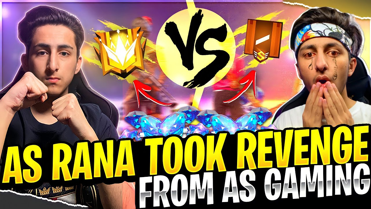 As RanaTook Revenge  As Gaming Clash Squad Match Funny Moment In Garena Free Fire