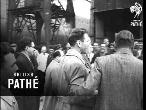Gus Lesnivitch Light Heavyweight Boxer Interview At Southampton (1948)