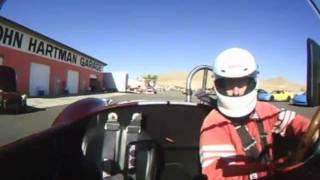 Cobra Crash Willow Springs Raceway 130 MPH