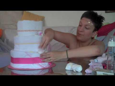Πώς να φτιάξετε ένα diaper cake