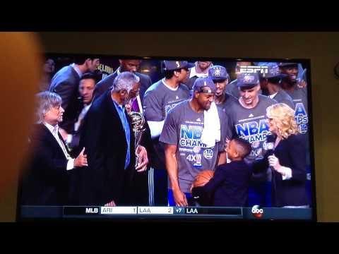 Andre Iguodala get the NBA finals MVP