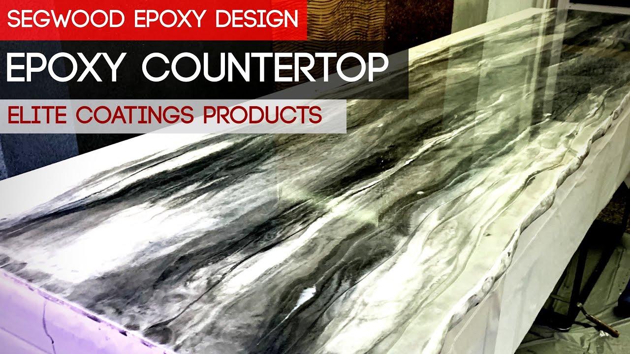 Diy Epoxy Countertop Marble Effect 50 Mica Silver 30 20 Er Black