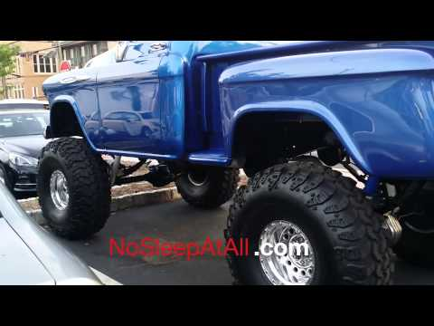 Lifted 57 Chevy Truck
