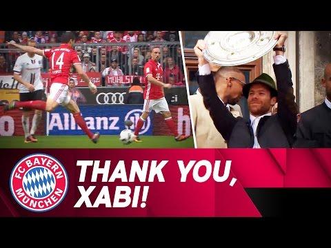 Thank you, Xabi Alonso!
