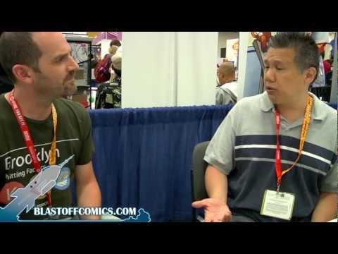 Blastoff at SDCC 2012 - Ron Lim