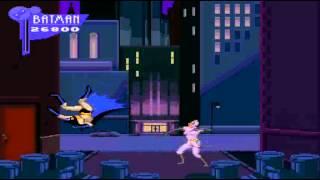 Adventures of Batman & Robin(SNES) Game Over