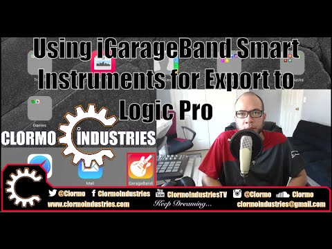 Logic Pro X Tutorial: iGarageBand Smart Instruments to Logic (LPX Tutorials Season 2)