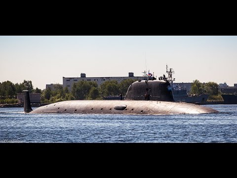 Yasen-class Russian Nuclear Multipurpose Attack Submarine [HD]-2014