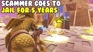 Scammer Goes To JAIL for 54 YEARS! 😱 (Scammer Gets Scammed) Fortnite Save The World