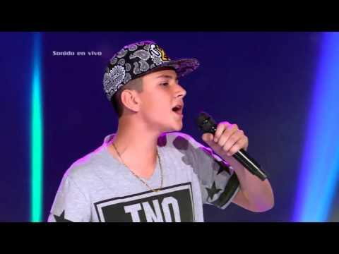 Juan Diego cantó La Despedida Daddy Yankee – LVK Col  Audiciones a ciegas – Cap 13 – T2