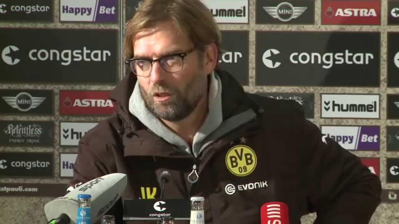 Pressekonferenz: Jürgen Klopp nach dem Pokalspiel FC St. Pauli - BVB (0:3) | BVB