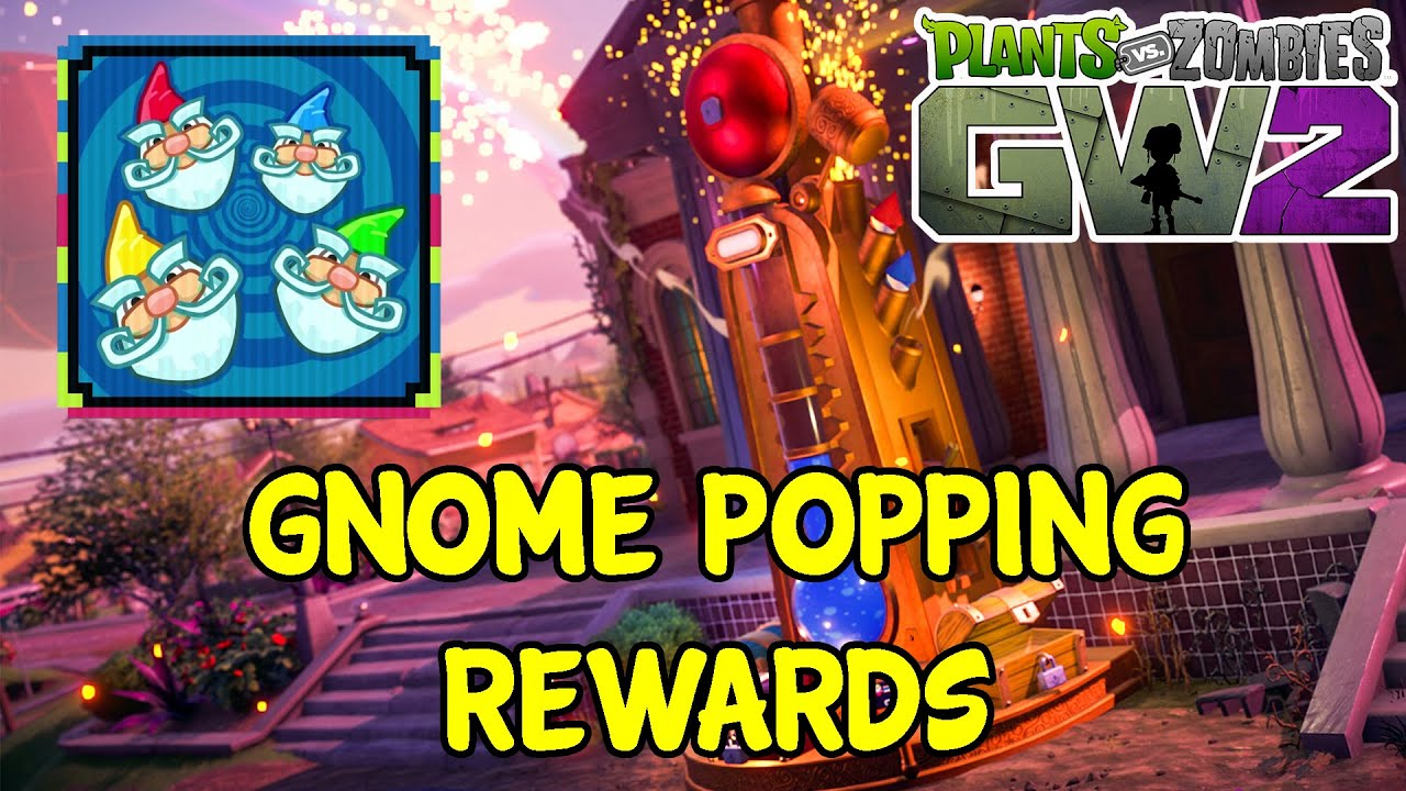 Gnome Popping Community Challenge Rewards - Plants Vs Zombies Garden  Warfare 2