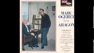 Je chante pour passer le temps - Marc Ogeret (Aragon)
