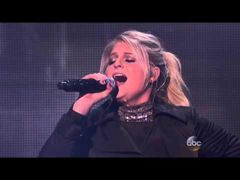 Meghan Trainor - Like I'm Gonna Lose You / Marvin Gaye (American Music Awards 2015) HD