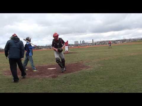Edinburgh Cannons vs Glasgow Baseball Association 21.04.13 Part 1