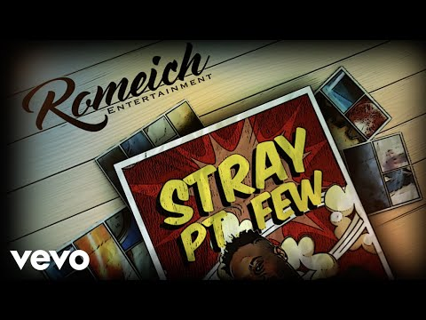 Ding Dong, Teejay - Stray Pt Few (Official Lyric Video)