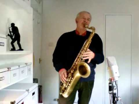 Pennies from Heaven on Tenor Sax