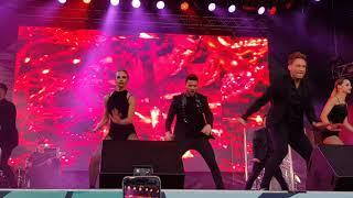 Сергей Лазарев Идеальный мир 5 08 2018 санкт петербург фестиваль будь с городом будьсгородом