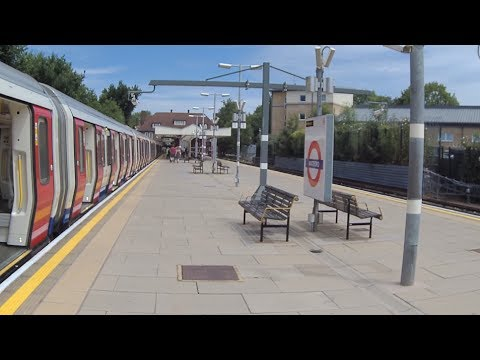 Metropolitan Line Finchley Road - Watford London Underground Action Cam Test