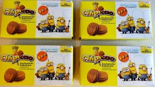 2015 Minions Movie Surprise Caps - Pogs Collection in Chipicao Croissant & Biscuit