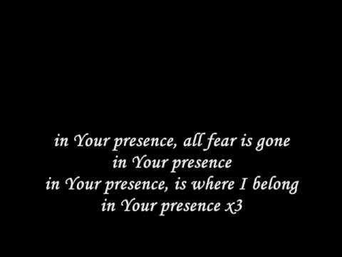 In Your presence lyrics - Jason Upton