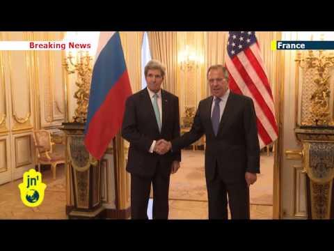 Russian Invasion of Crimea: US Secretary of State meets Russia's Lavrov for Paris talks