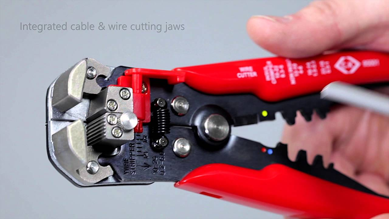 CK 495001 Automatic Cable & Wire Stripper - YouTube