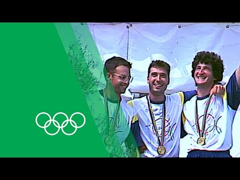 Underdog Spain Surprise the Crowd to Win Archery Gold - Barcelona 92 | Moments In Time